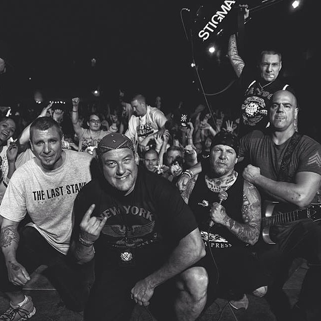 @ the Black n Blue Bowl in Brooklyn-2014 Photo By Jammi Sloan York  Agnostic Front- Cause For Alarm